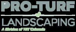 Pro Turf Landscape Co Logo